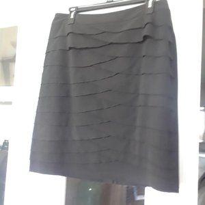 Black Petite Pencil Skirt knee length